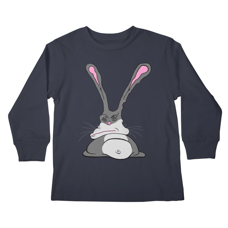 Chubs Bunny Kids Longsleeve T-Shirt by Spiral Saint - Artist Shop
