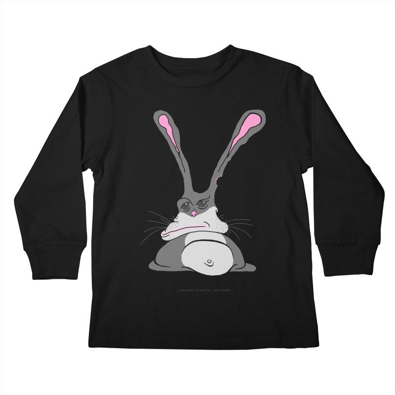 Chubs Bunny Kids Longsleeve T-Shirt by Spiral Saint - Artist Shop
