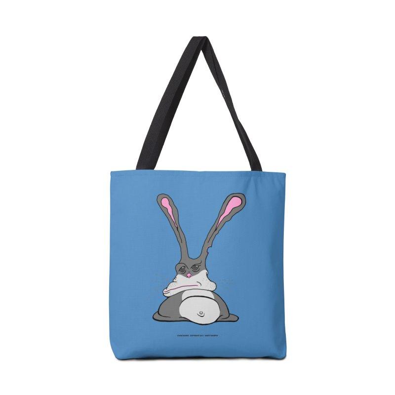 Chubs Bunny Accessories Bag by Spiral Saint - Artist Shop