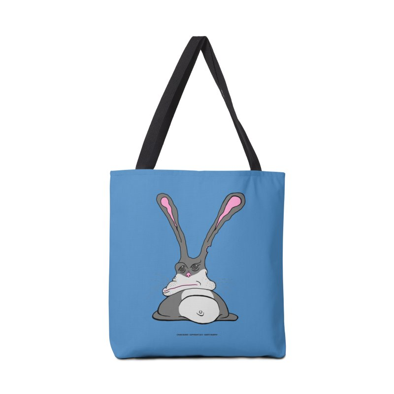 Chubs Bunny Accessories Tote Bag Bag by Spiral Saint - Artist Shop