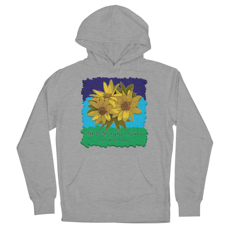 Laughing Earth Flowers Women's Pullover Hoody by Spiral Saint - Artist Shop