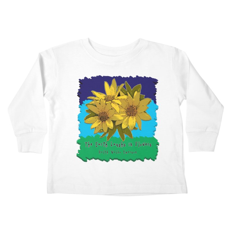 Laughing Earth Flowers Kids  by Spiral Saint - Artist Shop