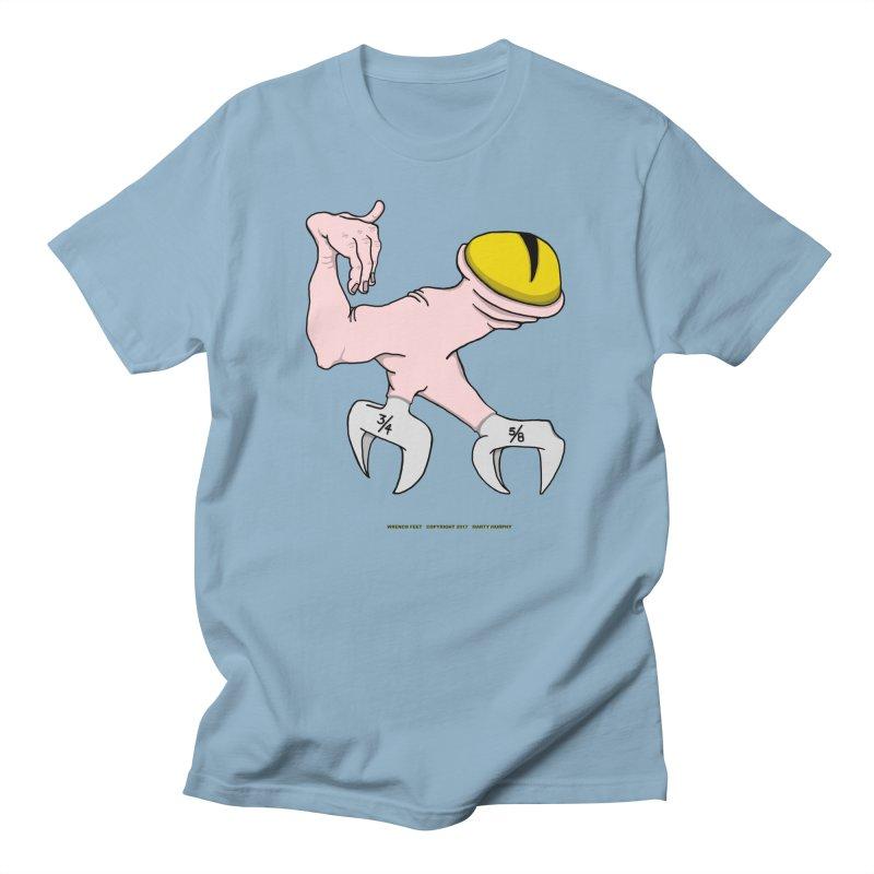Wrench Feet Men's T-Shirt by Spiral Saint - Artist Shop
