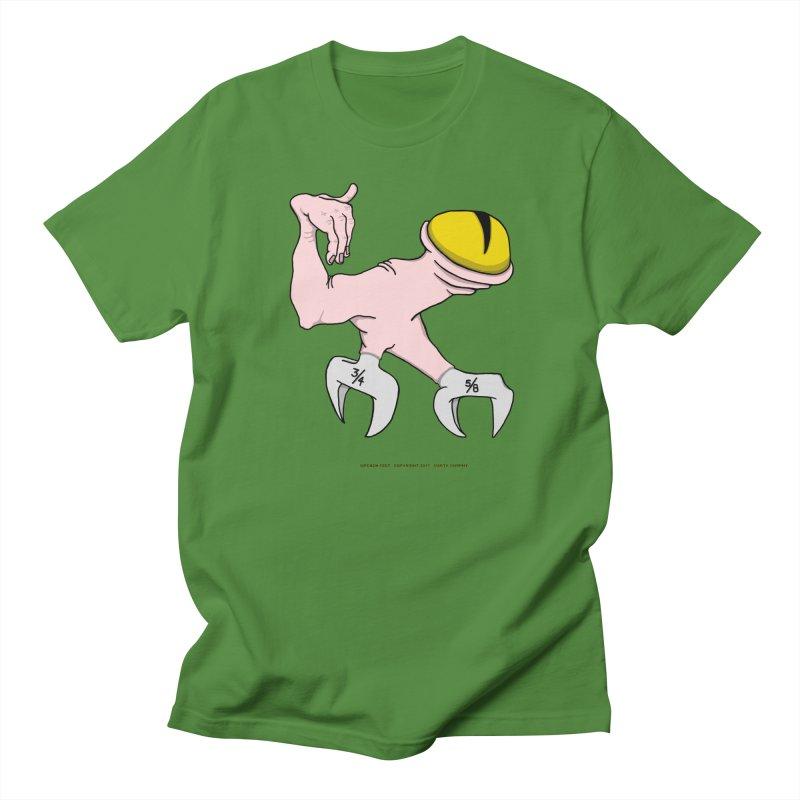Wrench Feet Men's Regular T-Shirt by Spiral Saint - Artist Shop