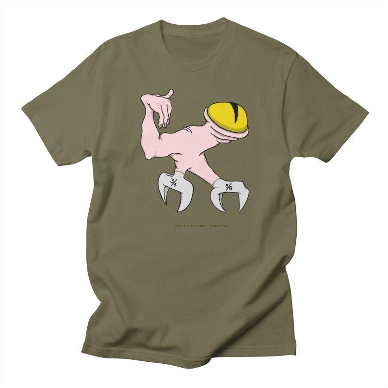 Wrench Feet Women's Regular Unisex T-Shirt by Spiral Saint - Artist Shop