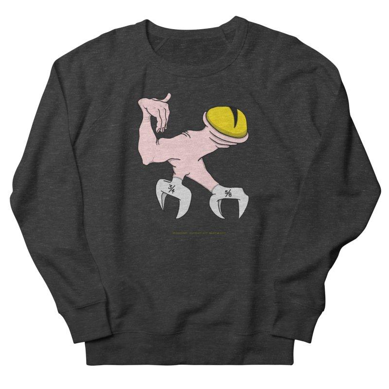 Wrench Feet Women's French Terry Sweatshirt by Spiral Saint - Artist Shop