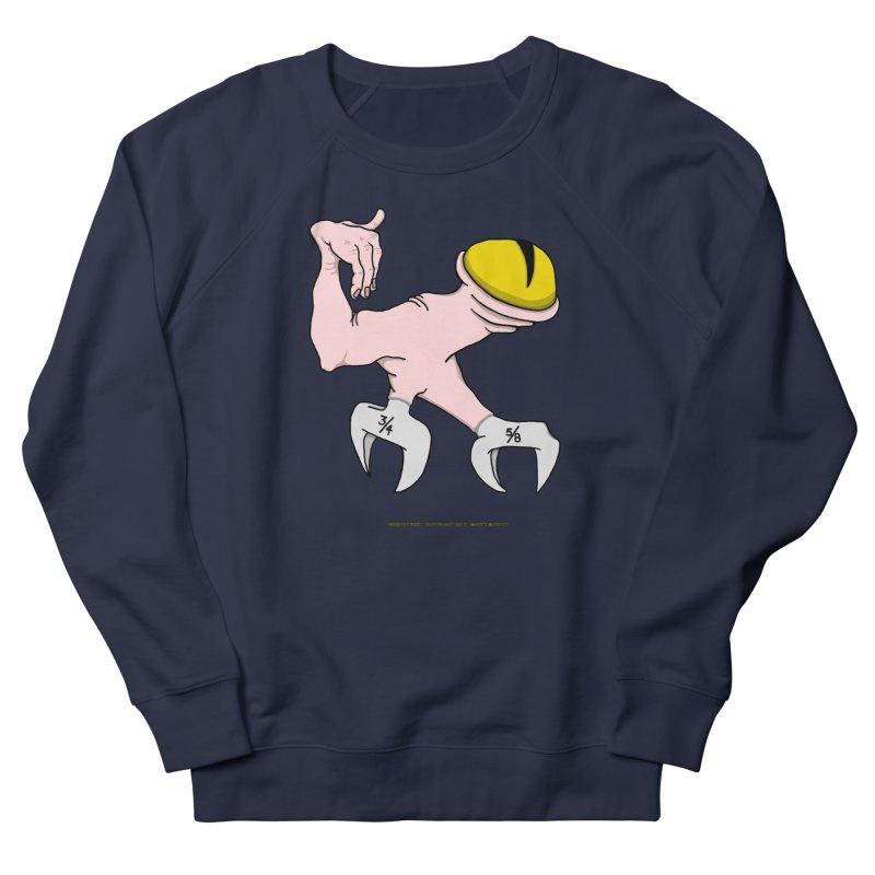 Wrench Feet Men's French Terry Sweatshirt by Spiral Saint - Artist Shop