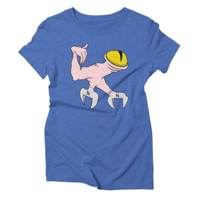 Wrench Feet Women's Triblend T-Shirt by Spiral Saint - Artist Shop