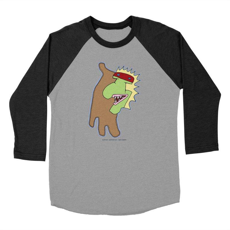 Glove Guy Women's Baseball Triblend Longsleeve T-Shirt by Spiral Saint - Artist Shop