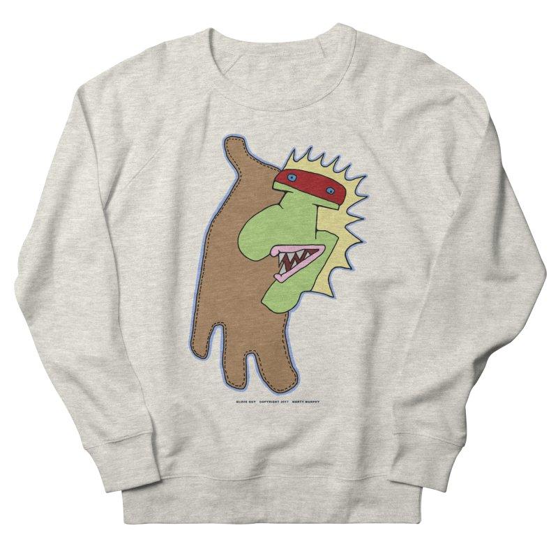 Glove Guy Women's French Terry Sweatshirt by Spiral Saint - Artist Shop
