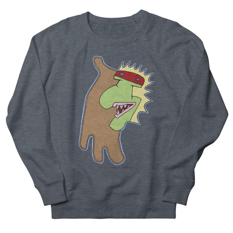 Glove Guy Men's French Terry Sweatshirt by Spiral Saint - Artist Shop