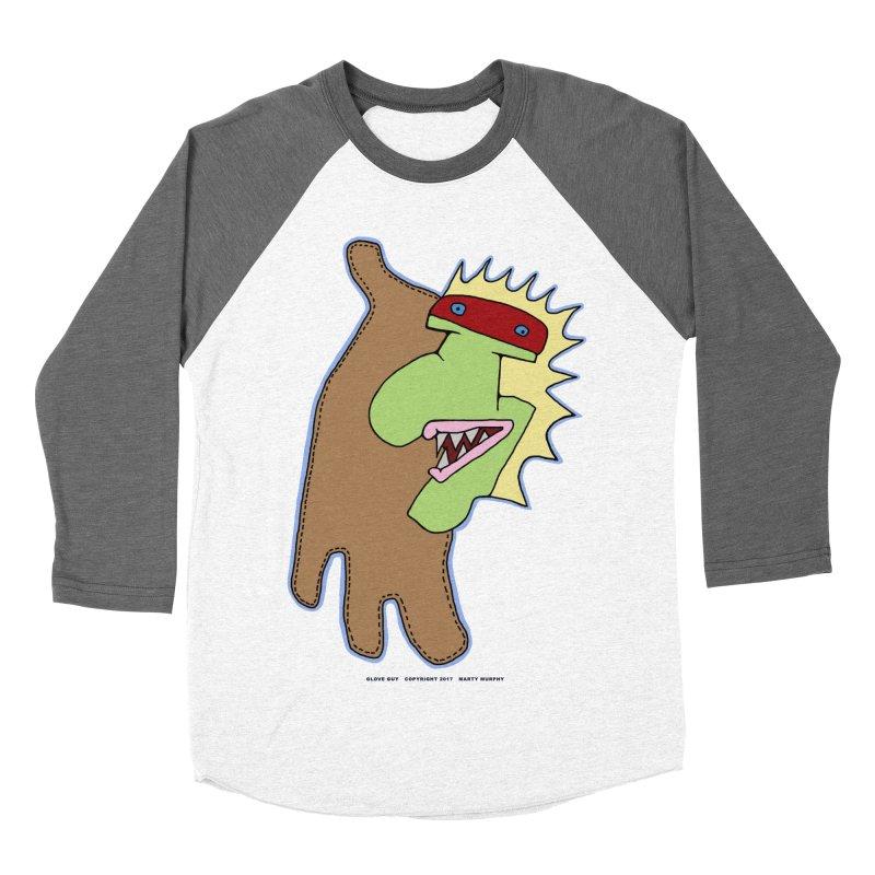 Glove Guy Men's Baseball Triblend T-Shirt by Spiral Saint - Artist Shop