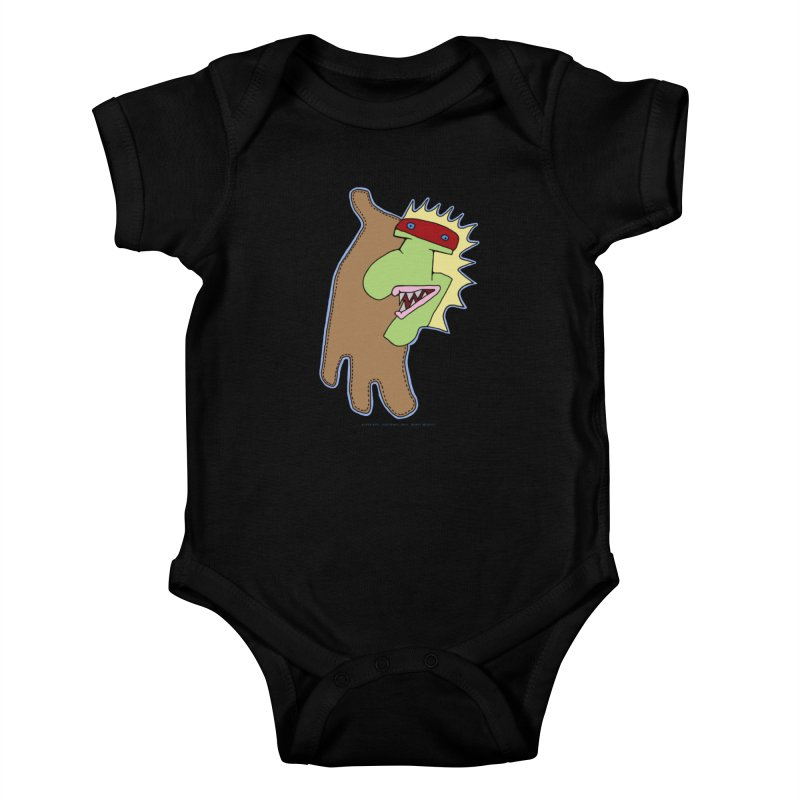 Glove Guy Kids Baby Bodysuit by Spiral Saint - Artist Shop