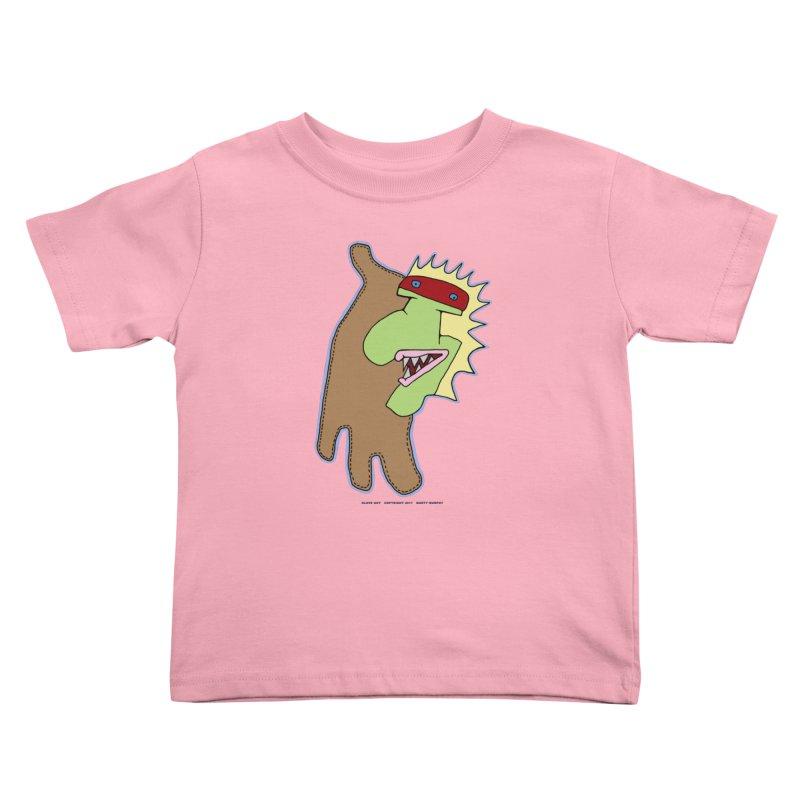 Glove Guy Kids Toddler T-Shirt by Spiral Saint - Artist Shop