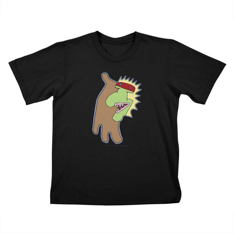 Glove Guy Kids T-Shirt by Spiral Saint - Artist Shop