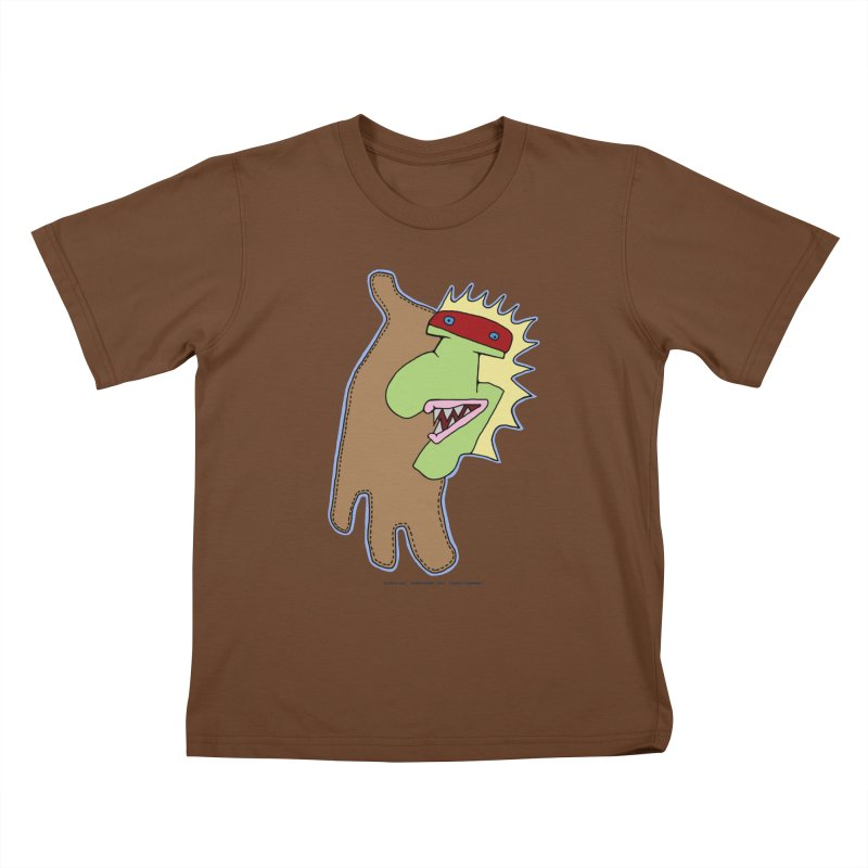 Glove Guy Kids T-Shirt by Spiral Saint - Artist Shop