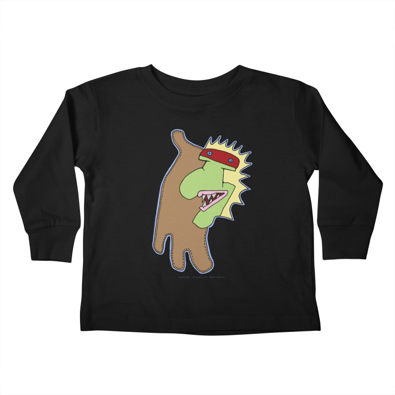 Glove Guy Kids Toddler Longsleeve T-Shirt by Spiral Saint - Artist Shop