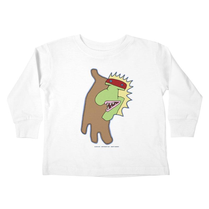 Glove Guy Kids Toddler Longsleeve T-Shirt by Spiral Saint - Artist Shop