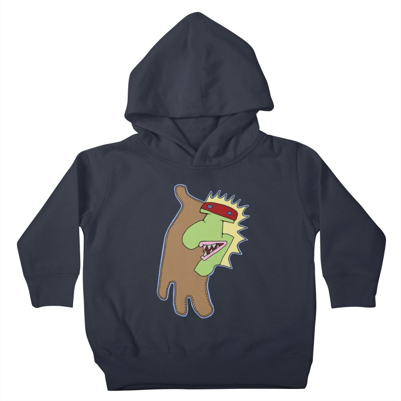 Glove Guy Kids Toddler Pullover Hoody by Spiral Saint - Artist Shop