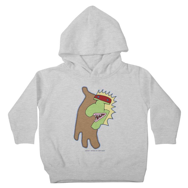 Glove Guy Kids Toddler Pullover Hoody by Spiral Saint - Artist Shop
