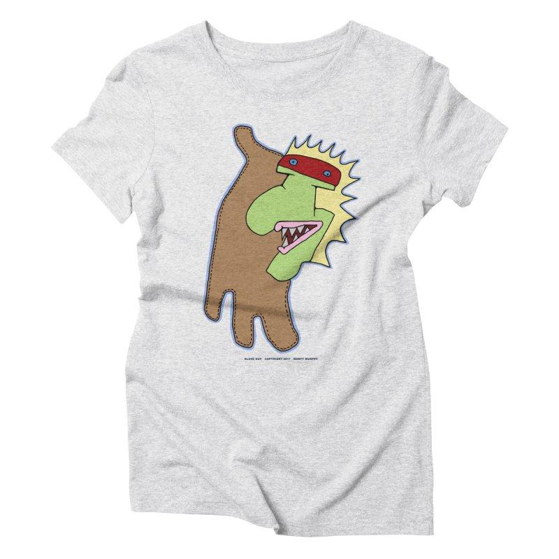 Glove Guy Women's Triblend T-Shirt by Spiral Saint - Artist Shop