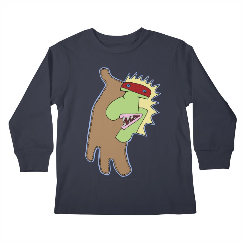 Glove Guy Kids Longsleeve T-Shirt by Spiral Saint - Artist Shop