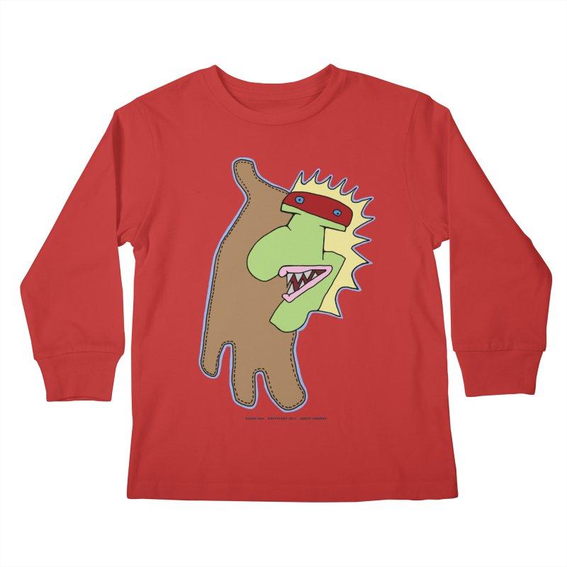 Glove Guy Kids Longsleeve T-Shirt by Spiral Saint - Artist Shop