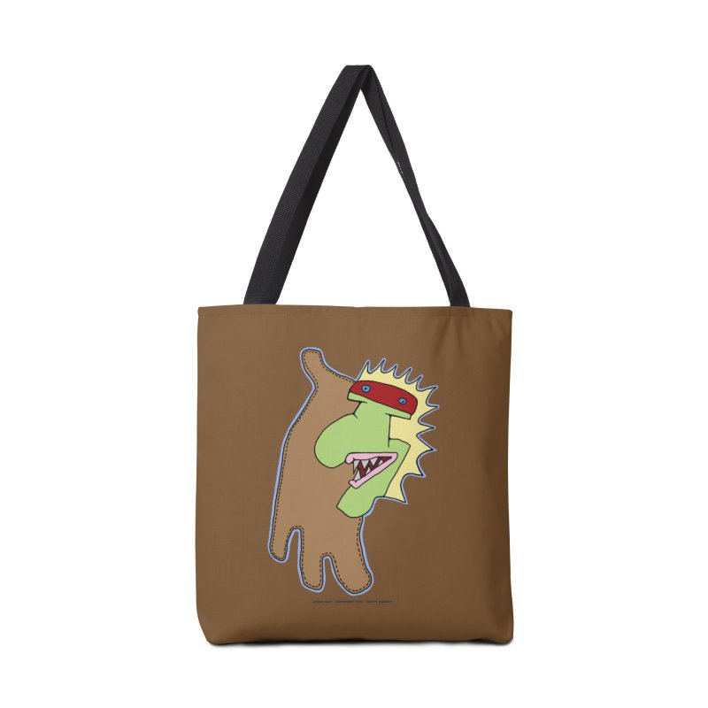 Glove Guy Accessories Tote Bag Bag by Spiral Saint - Artist Shop