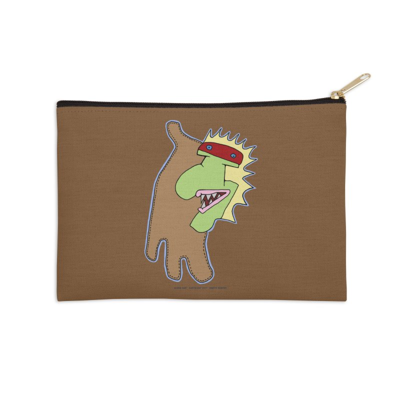 Glove Guy Accessories Zip Pouch by Spiral Saint - Artist Shop