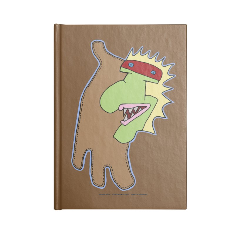 Glove Guy Accessories Lined Journal Notebook by Spiral Saint - Artist Shop