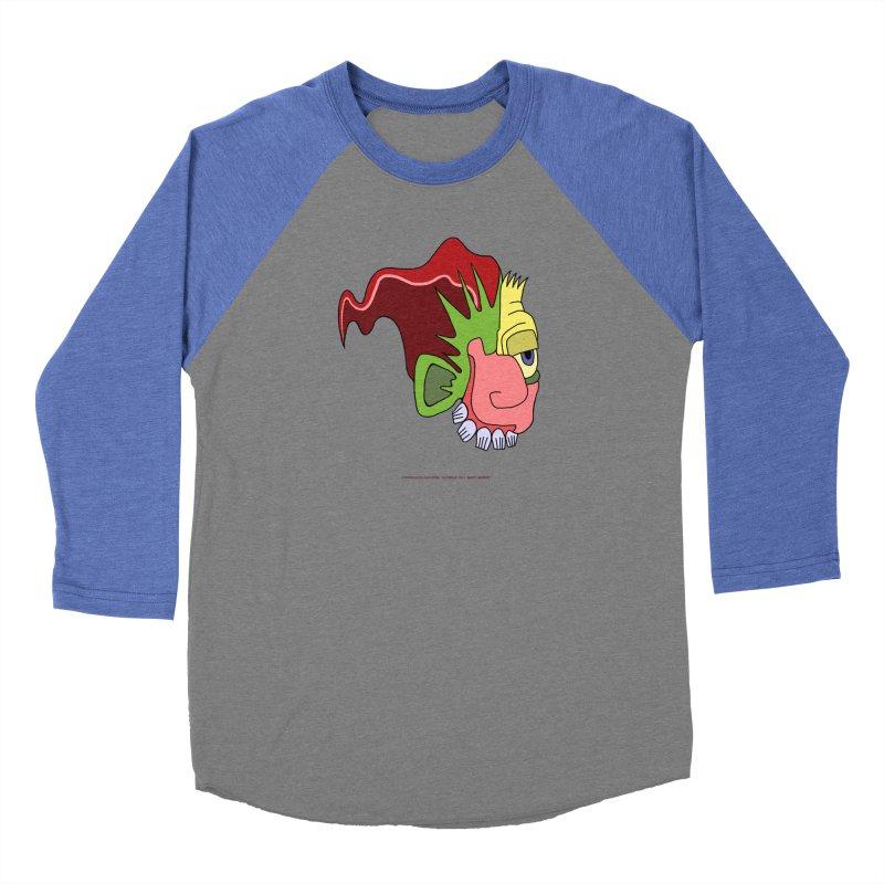 Stained Glass Guy Men's Baseball Triblend Longsleeve T-Shirt by Spiral Saint - Artist Shop