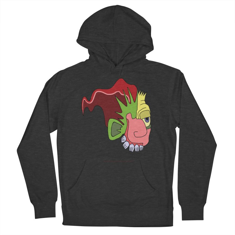 Stained Glass Guy Women's French Terry Pullover Hoody by Spiral Saint - Artist Shop