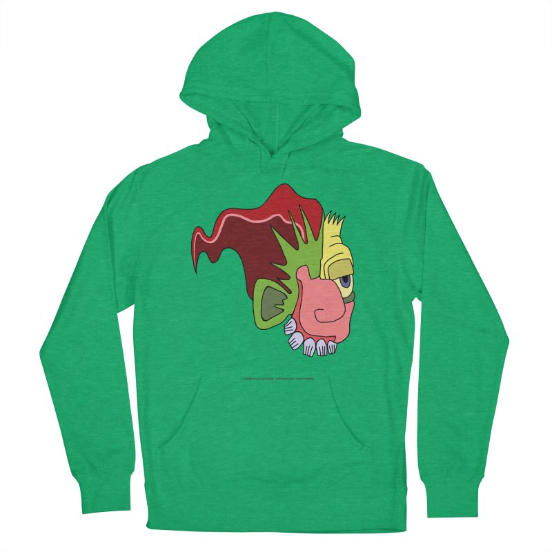 Stained Glass Guy Men's French Terry Pullover Hoody by Spiral Saint - Artist Shop