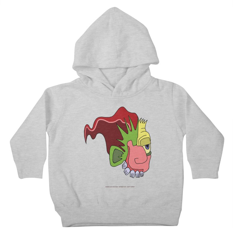 Stained Glass Guy Kids Toddler Pullover Hoody by Spiral Saint - Artist Shop