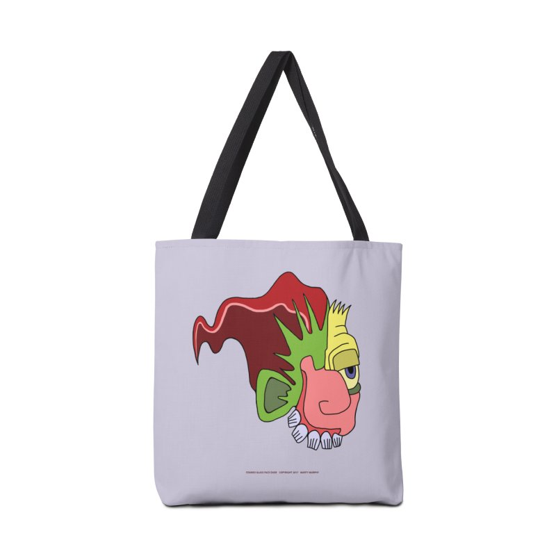 Stained Glass Guy Accessories Tote Bag Bag by Spiral Saint - Artist Shop