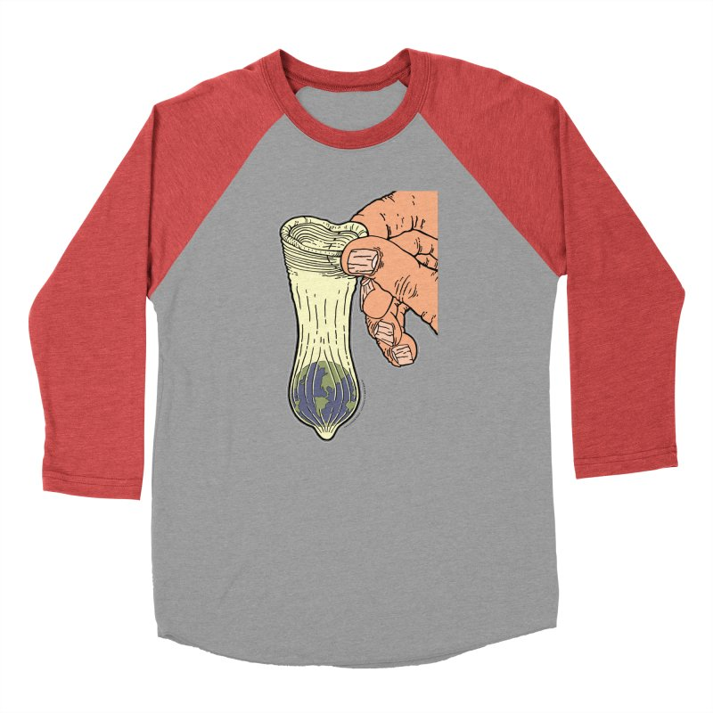 This Condom Earth Men's Longsleeve T-Shirt by Spiral Saint - Artist Shop