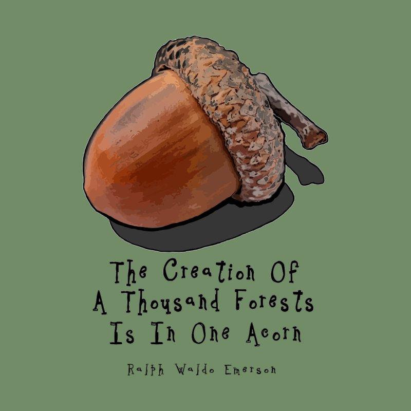 One Acorn None  by Spiral Saint - Artist Shop