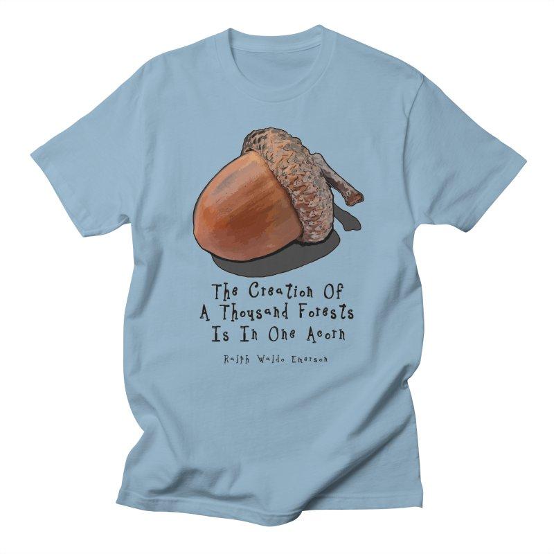One Acorn Women's Regular Unisex T-Shirt by Spiral Saint - Artist Shop