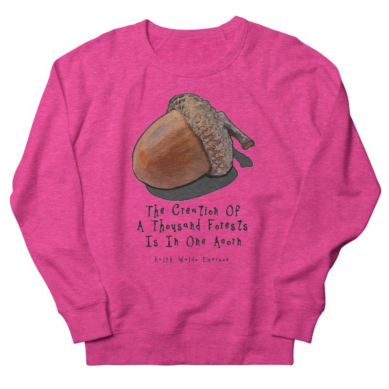 One Acorn Men's Sweatshirt by Spiral Saint - Artist Shop
