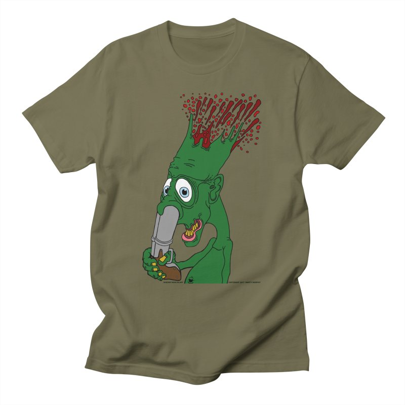 Suicide Nose Blast Men's T-Shirt by Spiral Saint - Artist Shop