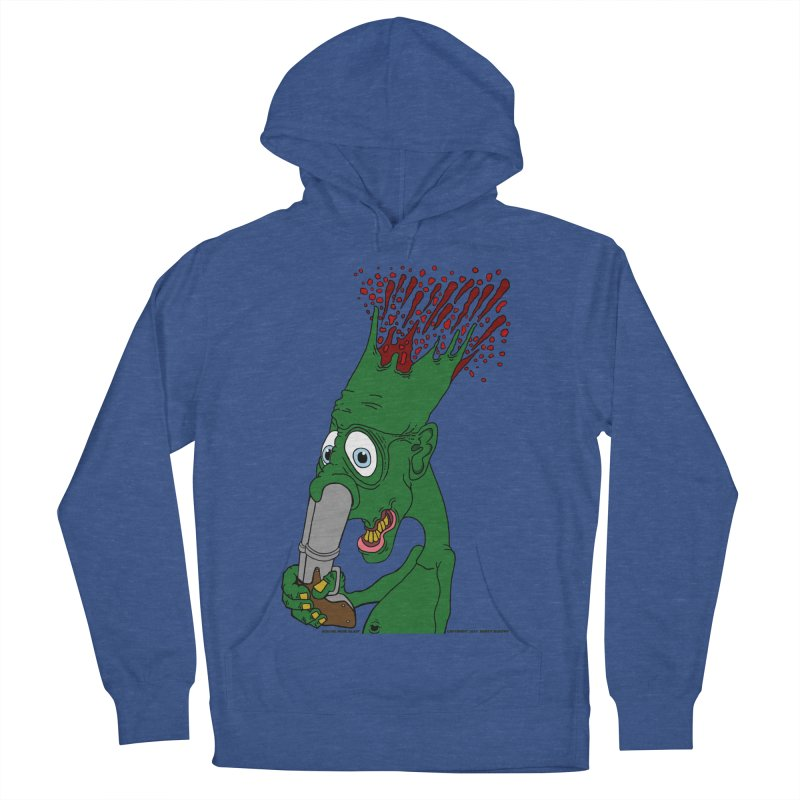 Suicide Nose Blast Men's French Terry Pullover Hoody by Spiral Saint - Artist Shop