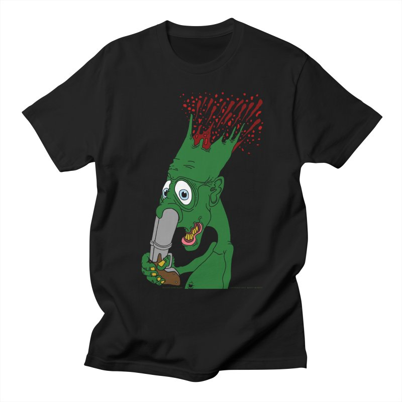 Suicide Nose Blast Men's Regular T-Shirt by Spiral Saint - Artist Shop