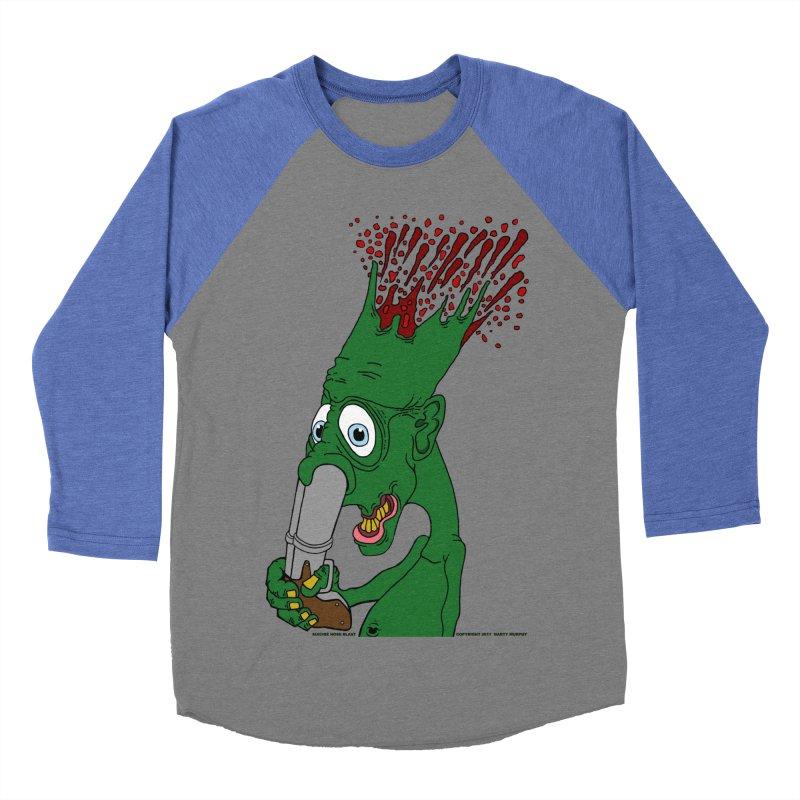 Suicide Nose Blast Women's Baseball Triblend T-Shirt by Spiral Saint - Artist Shop