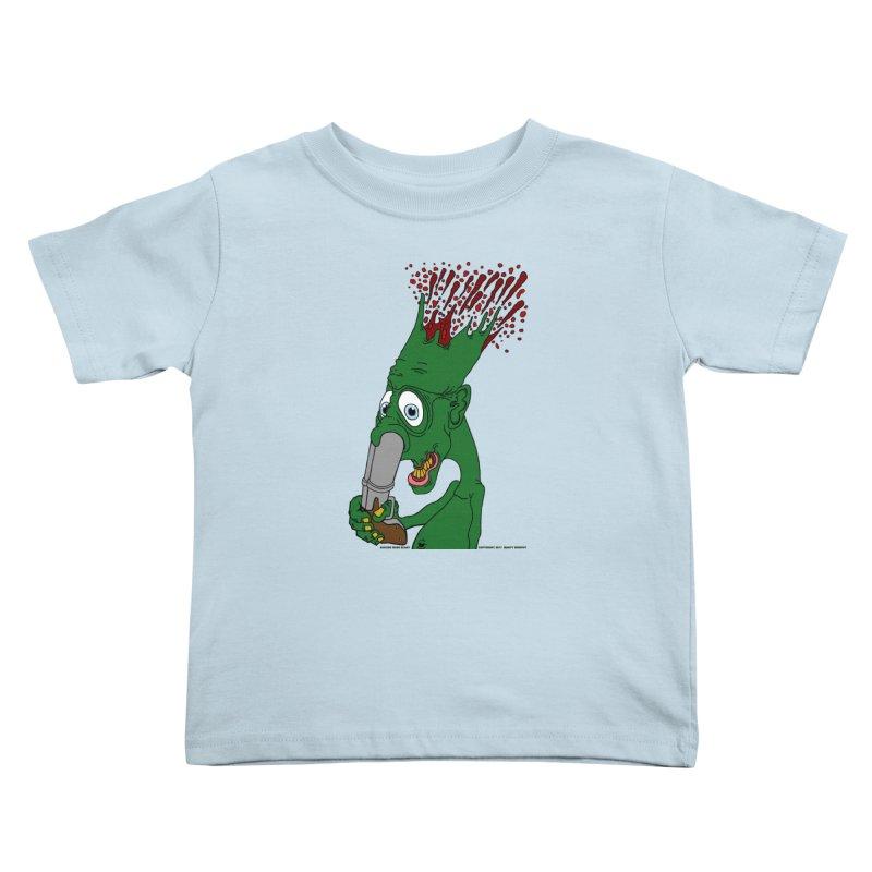 Suicide Nose Blast Kids Toddler T-Shirt by Spiral Saint - Artist Shop