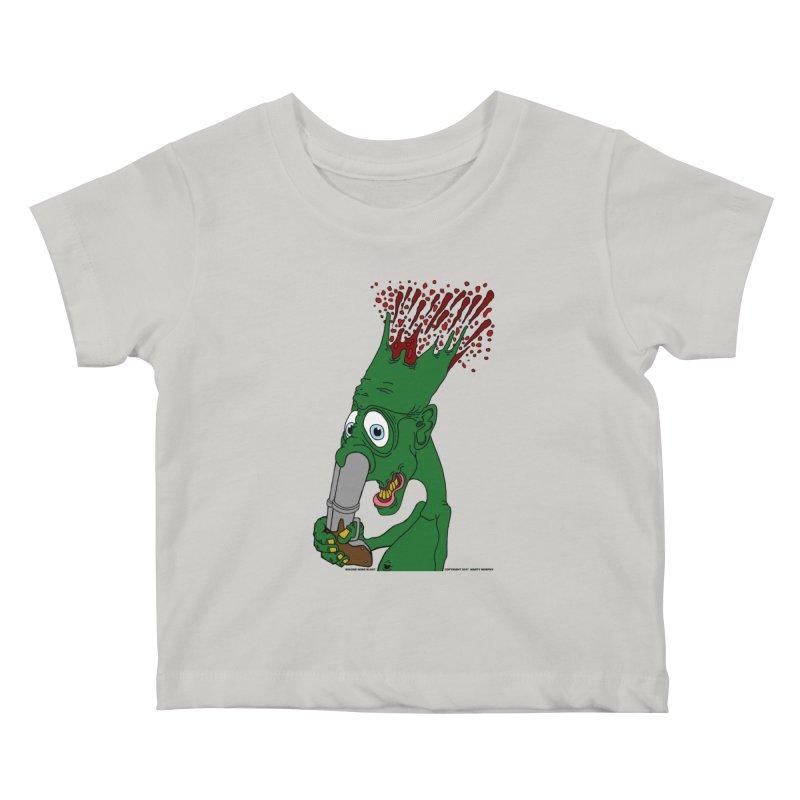 Suicide Nose Blast Kids Baby T-Shirt by Spiral Saint - Artist Shop