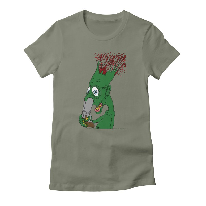 Suicide Nose Blast Women's T-Shirt by Spiral Saint - Artist Shop