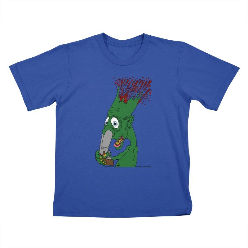 Suicide Nose Blast Kids T-Shirt by Spiral Saint - Artist Shop