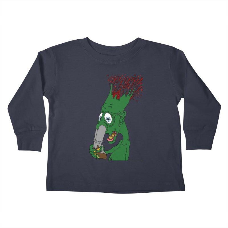 Suicide Nose Blast Kids Toddler Longsleeve T-Shirt by Spiral Saint - Artist Shop
