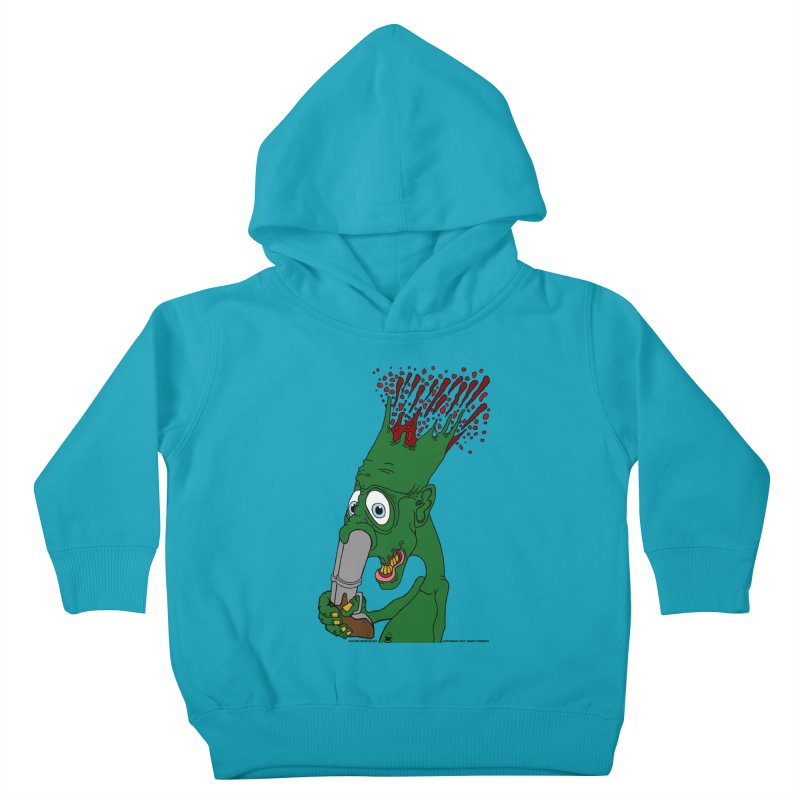 Suicide Nose Blast Kids Toddler Pullover Hoody by Spiral Saint - Artist Shop