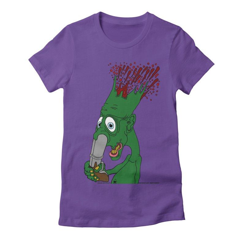 Suicide Nose Blast Women's Fitted T-Shirt by Spiral Saint - Artist Shop